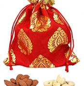 Potli Red - Cashew & Almonds